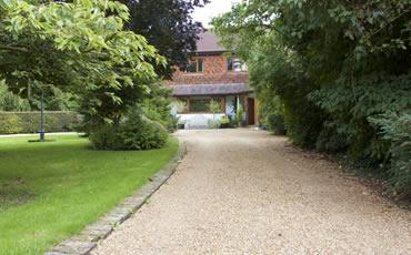 Tovey Lodge Driveway