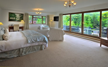 Bedroom at Tovey Lodge